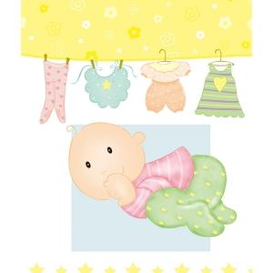 婴儿牛皮袋B2228